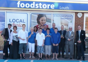 Image of the award ceremony at Lincolnshire Co-Op